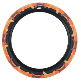 "CULT Vans Waffle BMX Tyre 26x2.10"" orange camo/blackwall"